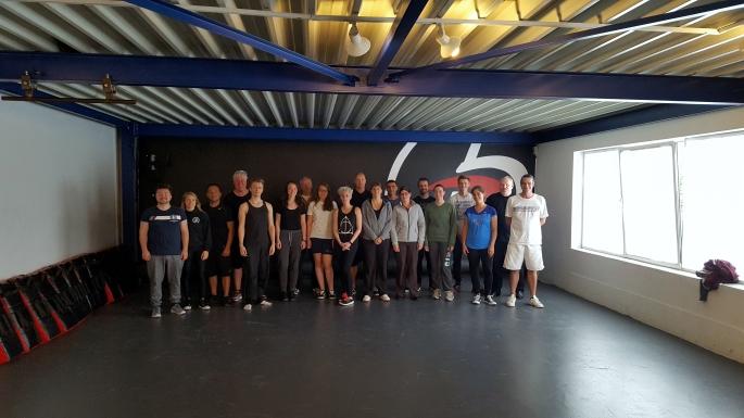 Krav Maga zelfverdediging initiatie 9 september 2017 Antwerpen